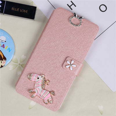 Flip Wallet Case For Huawei Enjoy 5S / GR3 / G8 Mini TAG-L23 TAG-L21 Luxury Phone Case Full Cover Bags Magnet Card Stand Cases