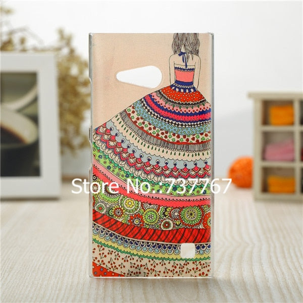 For Nokia Lumia 730 Case/Luxury Crystal Diamond 3D Bling Hard Plastic Cover Case For Nokia Lumia 730 735 Dual Sim Phone Case