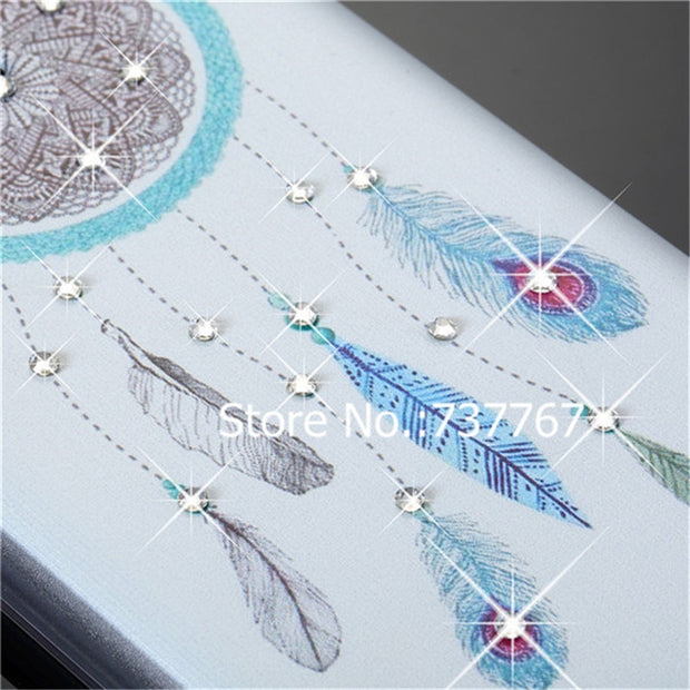 For Samsung Galaxy J3 2015 J3109 Case,Crystal Diamond 3D Bling Hard Plastic Cover For Samsung Galaxy J3 2016 J320 J320F J320P