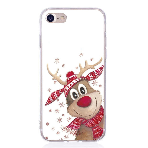 For Iphone 8 Plus Case Luxury For Women Soft Silicon Christmas Fudna Case For Iphone 7 Iphone6 6S 6 S 5 5 S SE 7 Plus Case
