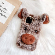 Brown Luckly Pig