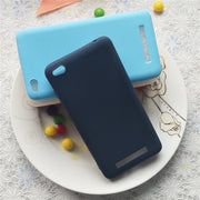 High Quality Candy Full Cover Case For Xiaomi Redmi 4A 5A 6A 4X Macarons Color Soft TPU Case