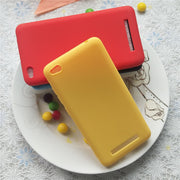 High Quality Candy Full Cover Case For Xiaomi Redmi 4A Redmi4A 5.0 Inch Macarons Color Soft TPU Case