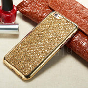 Hipzip Luxury Glitter Bling Case For Iphone Xs Max Xr X 10 Ten 8 7 6 6S 5 5S SE Case Fashion Cover Shining Phone Protector Coque