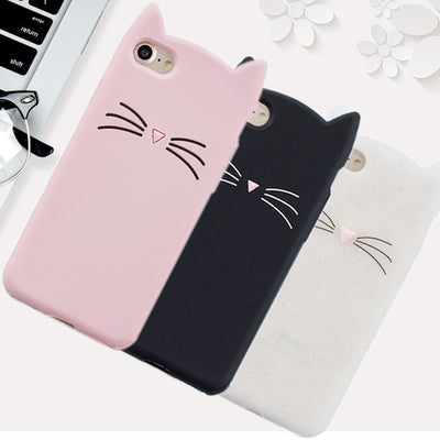 "Hot Sales! 3D Cute Cat Phone Silicone Soft Case Cover For Huawei Y5ii / Y5 Ii 2 CUN U29 L21 L01 CUN-L21 5.0"" Cases Gel Shell"