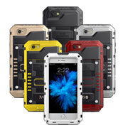 LUPHIE Shockproof Waterproof Case For IPhone X 8 7 6 6S Plus 5 5S SE Heavy Duty Armor Cover For IPhone 8 7 Plus Waterproof Cases