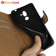 Leather Case For Nokia 7 Plus Wallet Flip Style Business Cover Phone Case For For Nokia 7 Nokia7 Cases Coque Funda Carcasas Capa