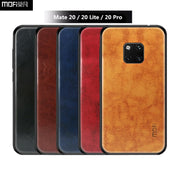 MOFi Leather + TPU + PC Case For Huawei Mate 20 / Mate 20 Pro Cover 360 Full Protection Back Cover For Huawei Mate 20 Lite Case