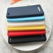 Macarons Color TPU Silicone Frosted Matte Case For Xiaomi Redmi 4A 4A High Quality Candy Full Cover Case For Huawei P20 Lite