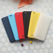 Macarons Color TPU Silicone Frosted Matte Case For Xiaomi Redmi 4A Redmi4A 5.0 Inch Simple Solid Color Soft TPU Cases