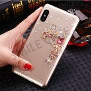 Mi MIX 2S Case For Xiaomi Mi MIX 2S Cover 5.99 Inch Fashion Bling Bling Luxury Rhinestone Cover For Xiaomi Mi Mix 2s Phone Cases