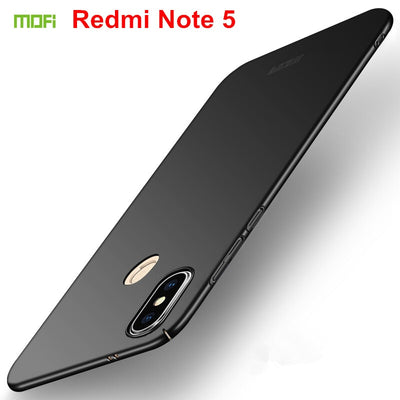 Original MOFi Brand Case For Xiaomi Redmi Note 5 Cover 5.99 Inch Hard PC Back Cover For Redmi Note 5 Pro Case Phone Cases Covers