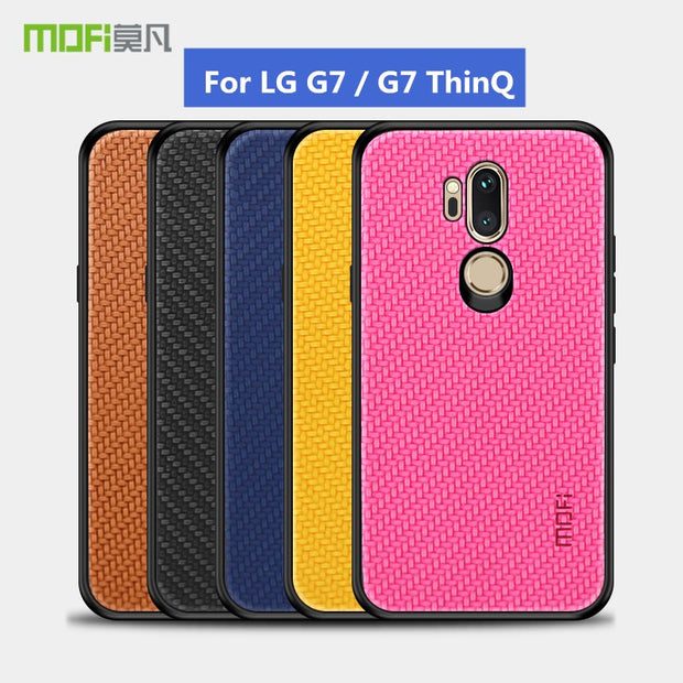 premium selection d3569 301ea Original Mofi Ultra Slim Cases For LG G7 ThinQ Case 6.1