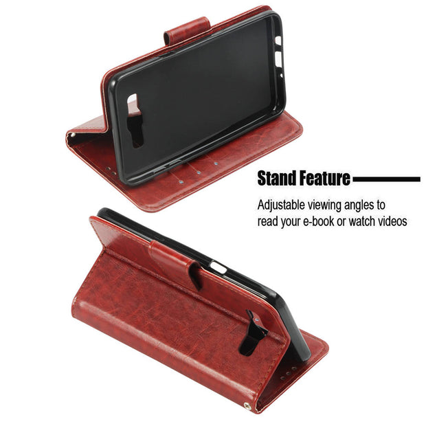 PU Case For SAMSUNG SM-J710FN J710F/DS J7 (6) 5.5 Book Flip Covers Wallet Cases For SAMSUNG Galaxy J7 2016 TPU Case Full Housing