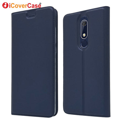 Phone Cases For Nokia 5.1 Case Flip 5.1 Plus Luxury Leather Wallet Back Cover For Nokia 5.1 Plus X5 Funda Coque Bag Hoesjes Etui