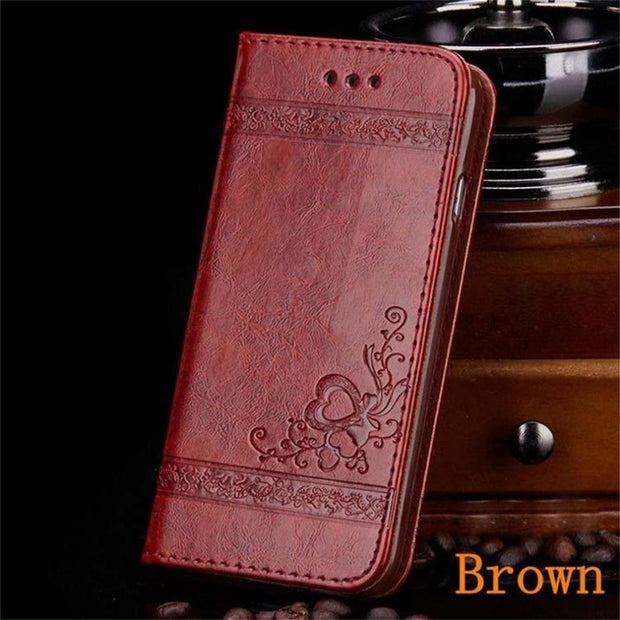 Phone Case For Samsung Note 8 Leather Wallet Case For Samsung Galaxy Note 8 Flip Business Style Genuine Leather Case Cover