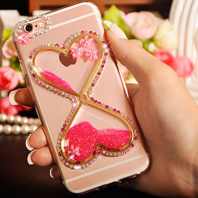Quicksand Hourglass Sandglass Sand Clock Phone Cover Case For Lenovo ZUK Z2 Pro S960 S90 S920 S860 S850 S820 S720 S660 S650