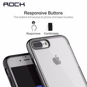 ROCK Royce Phone Case For IPhone 7/ 7 Plus, Kickstand PC Back Cover Transparent Phone Case For IPhone 7 7 Plus