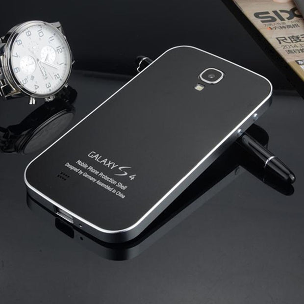 S4 Ultra Thin Metal Phone Cases For Samsung Galaxy S4 I9500 I9505