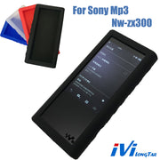 Silicone Case For Sony Walkman NW-ZX300 NW-ZX300A NW ZX300 Mp3 Players Gel Skin Soft Case Black Blue Clear Red