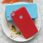 Simple Solid Color Soft TPU Cases For Huawei Honor8 Lite Macarons Color TPU Silicone Frosted Matte Case For Huawei P9Lite 2017