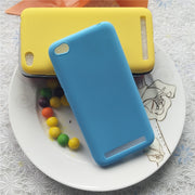 Simple Solid Color Soft TPU Cases For Xiaomi Redmi 5A 5 A Macarons Color TPU Silicone Frosted Matte Case For Xiaomi Redmi 5A