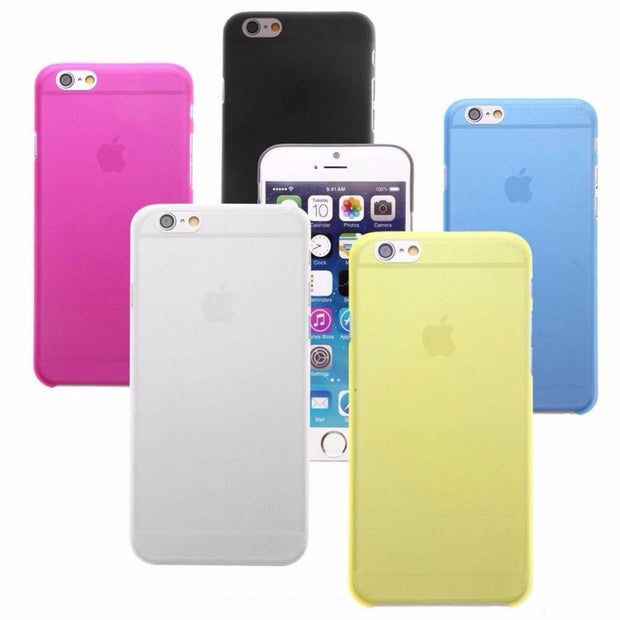 Transparent Clear Soft Phone Cases Cover For Iphone 8 8 Plus 7 7Plus 6 6S Plus 5 5S SE 5C 4 4S Cases Thin Coque Matte Candy Capa