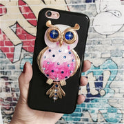Unicorn Glitter Liquid Case For Oneplus 3 / One Plus Three A3000 3T A3003 Cover Dynamic Cute Cartoon OWL Dreamcatcher Soft TPU