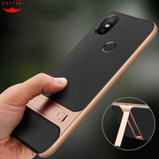 Xiaomi Mi A2 Case Mi 6X Cover Luxury Shockproof Silm Silicone+Hard PC Back Covers Stand Cases For Xiaomi Mi 6X Mi6X Shell