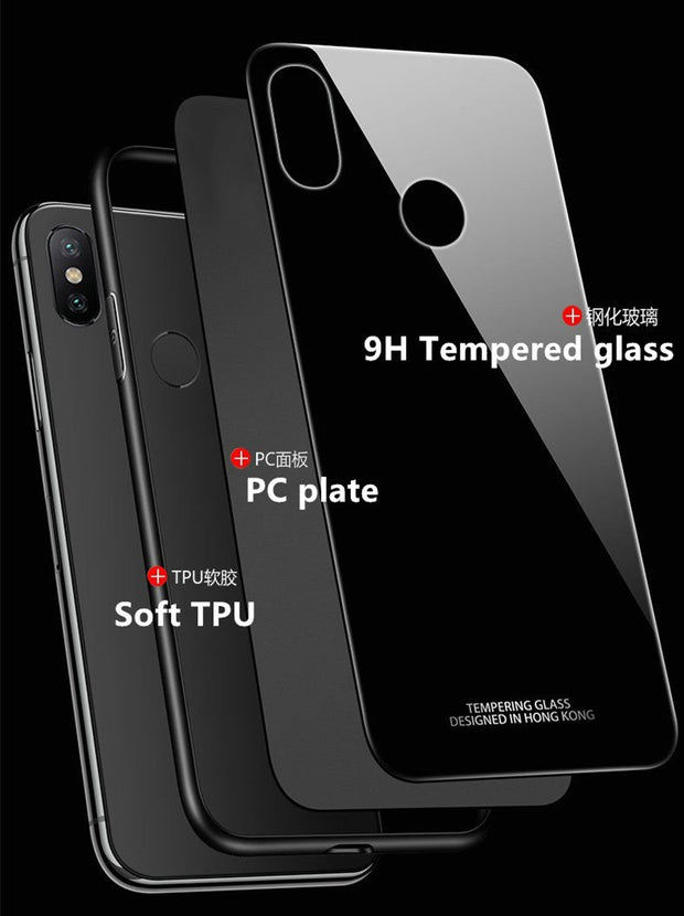 Xiaomi Mi Max 3 Case Cover Xiaomi Max3 Back Cover Tempered Glass Silicon Magnet Car Holder Case Capas Original Mi Max 3 Pro Case