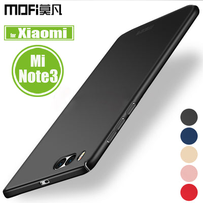 Xiaomi Mi Note 3 Case Xiaomi Note3 Cover Mofi Frosted Matte Hard Plastic 360 Full Coverage Phone Back Cases For Mi Note 3 Capa