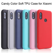 Xiaomi Pocophone F1 Candy Color Case For Xiaomi Mi A2 Lite A1 A2 Mi5s Mi6 Mi8 SE Explorer Case On Xiaomi Mi Max 2 Note 3 Mix 2S