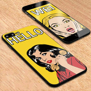 Y-ZU Phone Case For IPhone 6 6s 7 8 6/7/8 Plus X European Funny Original Personality Hand Shell Silicone Edge Protection