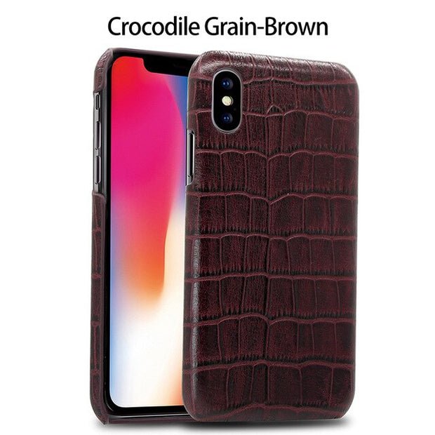 CrocodileGrain-Brown