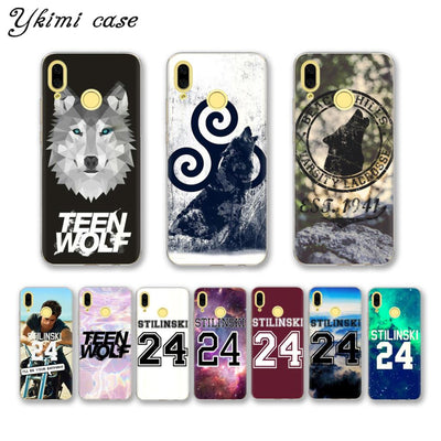 Ykimi Case STILINSKI TEEN WOLF Phone Cases For Huawei Nova 3i 3 3e 2 2s Case Transparent TPU Soft Silicone Cover
