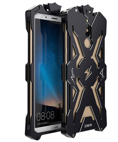 Zimon For Huawei Nova 2i Honor 9i Case Metal Powerful Case For Huawei Mate 10 Lite Maimang6 Shockproof Aluminum Cover