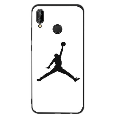For Huawei P20 Lite Jordan NBA Case For Huawei Mate 10 Lite Red Black Coque For Huawei P Smart P8 Lite 2017 P9 Lite Mini Capas