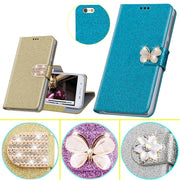 Luxury Flip PU Leather Case For Elephone C1 M2 S2 S3 S7 R9 P8000 P9000 / P 9000 Lite With Stand And Card Holder Phone Bag