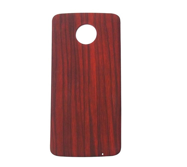 Red woodgrain