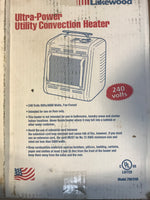 "240 VOLT ""LAKEWOOD"" ELECTRIC HEATER"