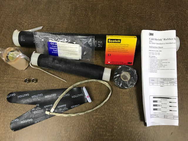 COLD SHRINK RUBBER SPLICING KIT