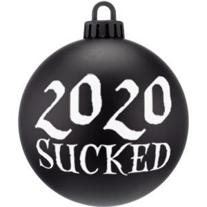 2020 Sucked Christmas Bauble Ornaments