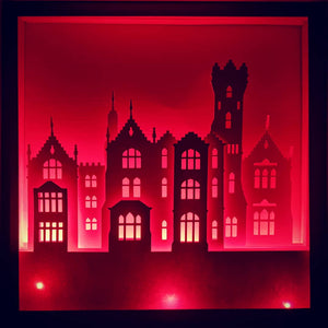 Frankenfurter's Castle 3D Shadow Box Frame