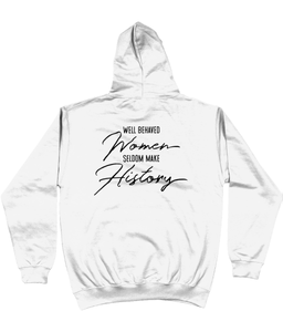 Well Behaved Women Varsity Hoodie