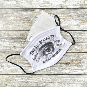 All Seeing EyE Face Mask