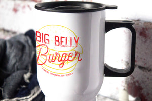 Big Belly Burger, Central City - Arrow - The Flash - 14oz Aluminium Travel Mug - ByCandlelight27