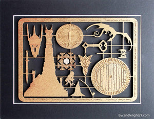 Lord of the Rings Model Kit Art Panel