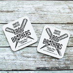 The Frog Brothers Vampire Killers - Hardwood Coasters