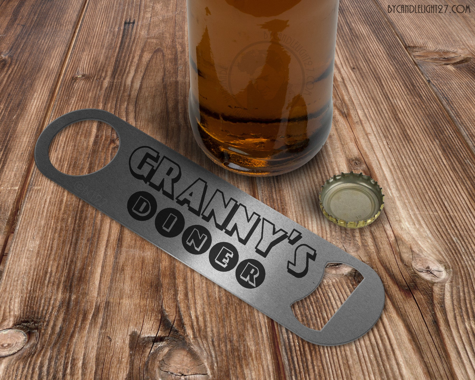 Granny's Diner Bar Blade Bottle Opener - ByCandlelight27