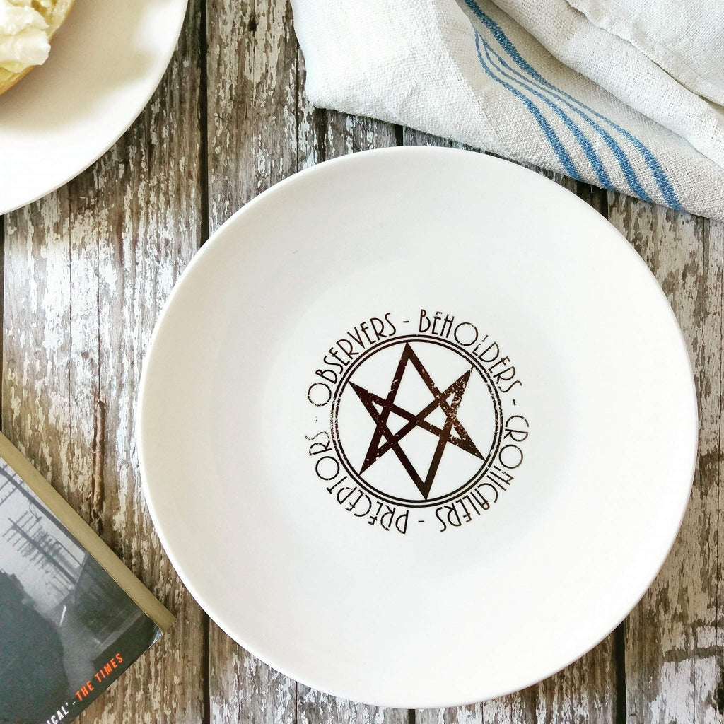 Men of Letters - Supernatural - Ceramic Plate